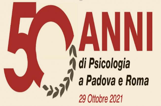Collegamento a 50 anni di Psicologia - 29 ottobre 2021